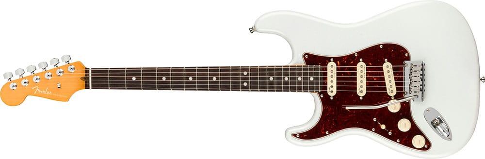 Left Handed Fender Guitars - American Ultra Stratocaster (Arctic Pearl)