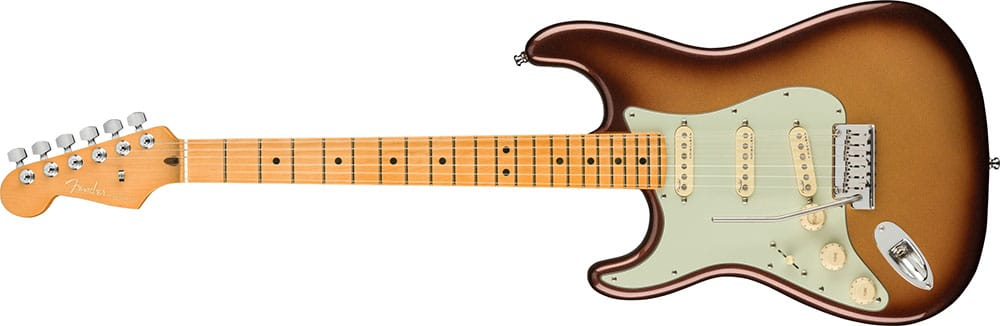 Left Handed Fender Guitars - American Ultra Stratocaster (Mocha Burst)