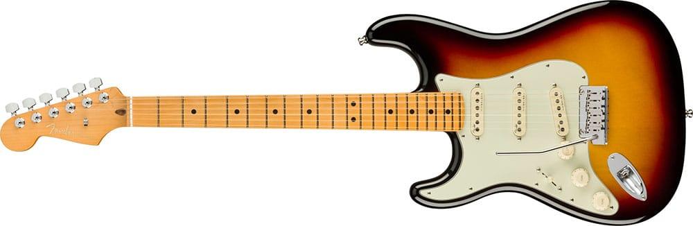 Left Handed Fender Guitars - American Ultra Stratocaster (Ultraburst)