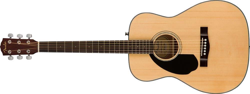Left Handed Fender Guitars - CC-60S Concert (Natural)