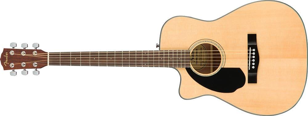 Left Handed Fender Guitars - CC-60SCE Concert (Natural)