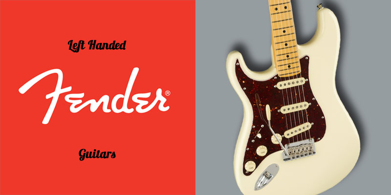 Left Handed Fender Guitars - Body of a lefty American Professional II Stratocaster (Olympic White)