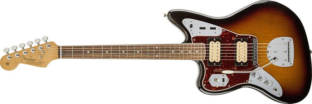 Left Handed Fender Guitars - Kurt Cobain Jaguar (3-Color Sunburst)