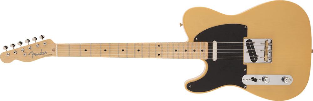 Left Handed Fender Guitars - Made in Japan Traditional 50s Telecaster (3-Color Sunburst)