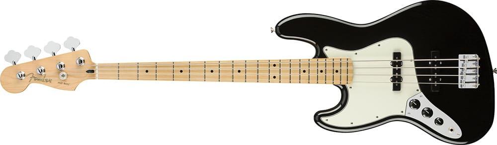 Left Handed Fender Guitars - Player Jazz Bass (Black)