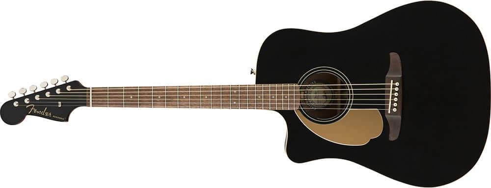 Left Handed Fender Guitars - Redondo Player (Jetty Black)